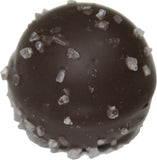 Dark Chocolate Sea Salt Caramel Gourmet Truffle Specialty Sweets Bangor Maine