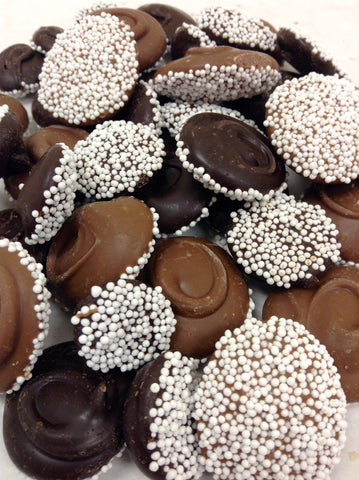 Nonpareils Milk and Dark Chocolate Mix Half Pound
