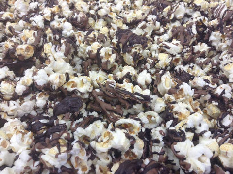 Popcorn Chocolate Drizzled .25lb