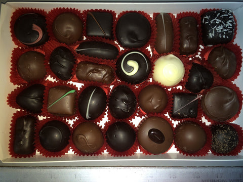 Specialty Sweets Chocolate Soft Centers Assortment Single Layer