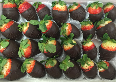 Chocolate Dipped Strawberries Extra Large
