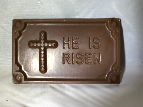 His is risen bar milk chocolate Specialty Sweets Bangor Maine