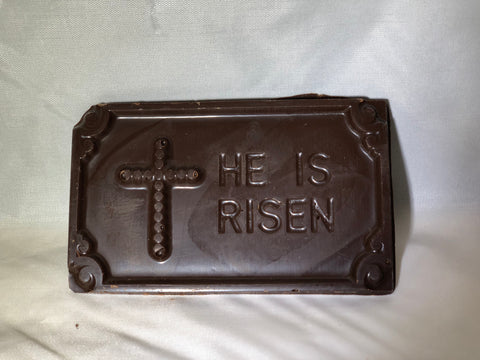 His is risen bar dark chocolate Specialty Sweets Bangor Maine