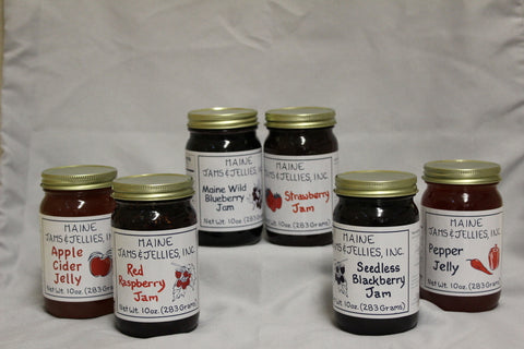 Maine Wild Blueberry Jam Specialty Sweets Bangor Maine