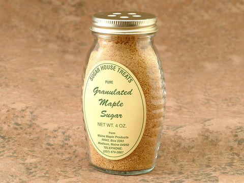 Maple Granulated Sugar Specialty Sweets Bangor Maine