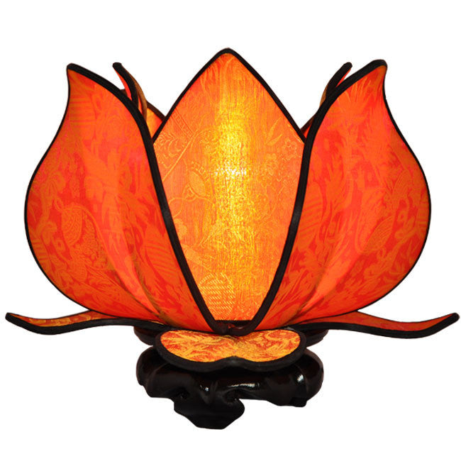 Baby Blooming Lotus Lamp - Citrus - Om Gallery