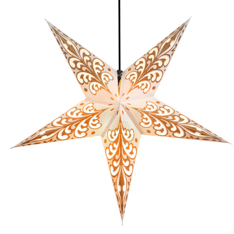 Om Paper Star Lantern - Caramel Conception