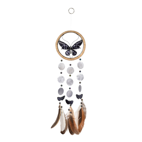 Capiz Dreamcatcher - Butterfly
