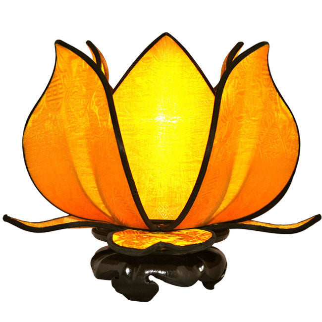 Baby Blooming Lotus Lamp - Gold - Om Gallery