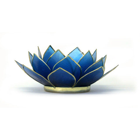 Gemstone Lotus  -  Saphire