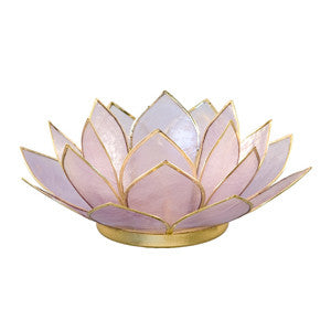 Gemstone Lotus  -  Amethyst