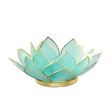 Gemstone Lotus  -  Aquamarine