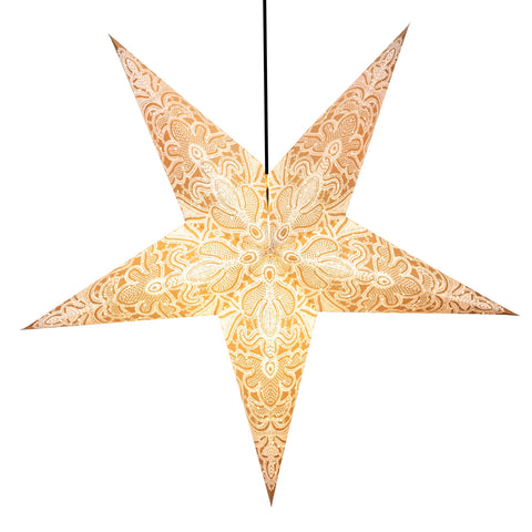 Om Paper Star Lantern - Powder