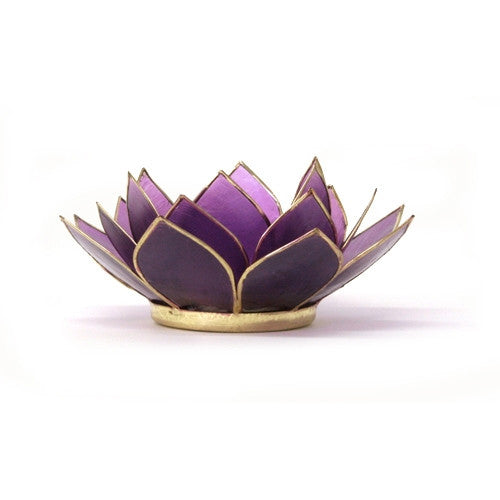 Gemstone Lotus  -  Tanzanite