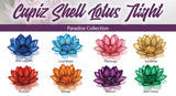 Capiz Lotus Paradise Collection Pack + 1 Free Stand