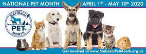 Treat Your Pet for National Pet Month