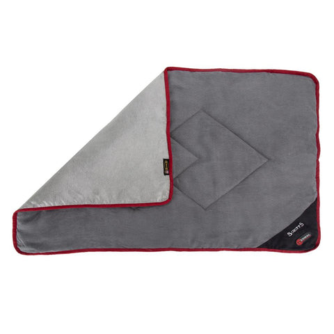 Thermal Blanket - Black & Grey Dog Bed Scruffs®