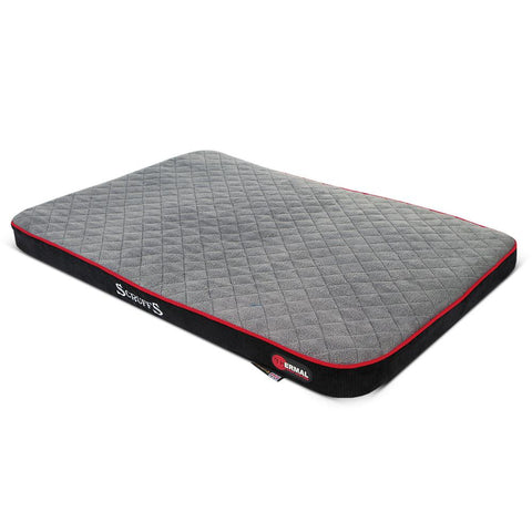 Thermal Pet Mattress - Black & Grey Dog Bed Scruffs®