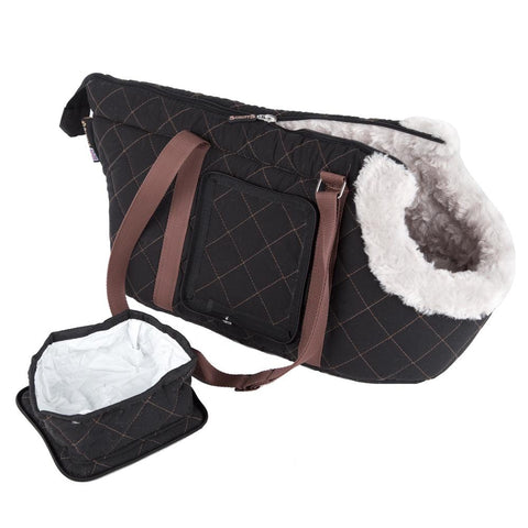 Wilton Pet/Dog Carrier - Black Dog Carrier Scruffs®