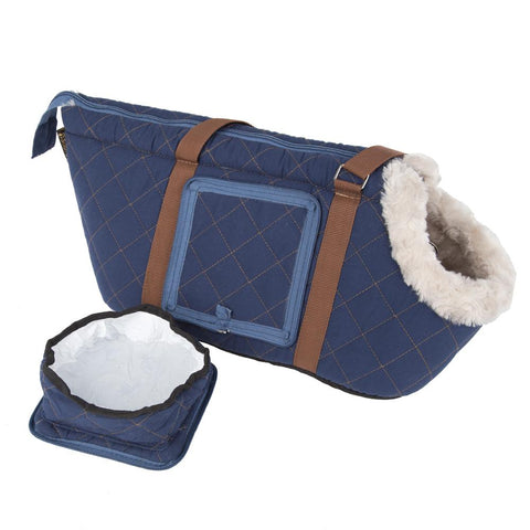 Wilton Pet/Dog Carrier - Blue Dog Carrier Scruffs®