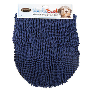 Noodle Drying Towel - Blue Dog Grooming Scruffs®