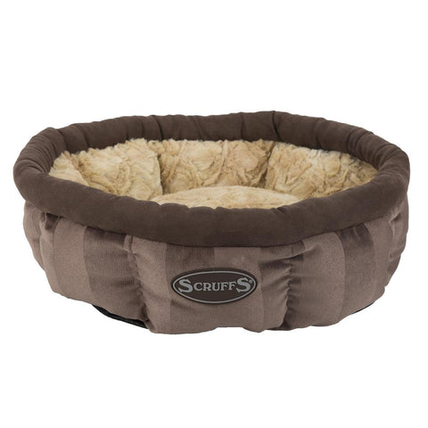 AristoCat Ring Cat Bed - Brown Cat Bed Scruffs®