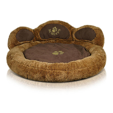 Grizzly Bear Dog Bed - Brown Bear Dog Bed Scruffs®