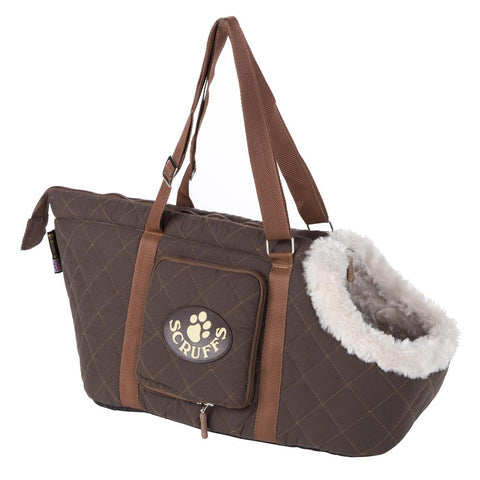 Wilton Pet/Dog Carrier - Brown Dog Carrier Scruffs®