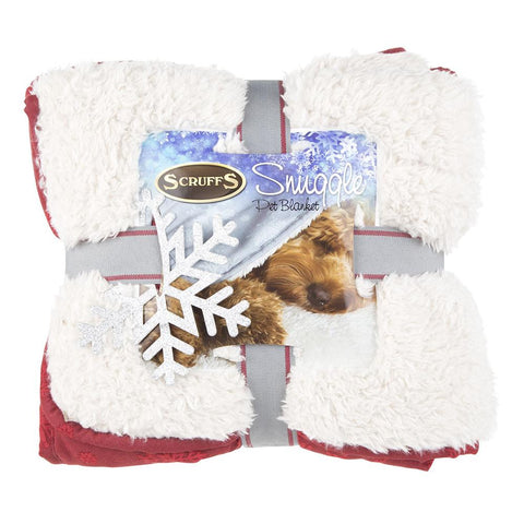 Winter Wonderland Snuggle Blanket - Red Dog Blanket Scruffs®