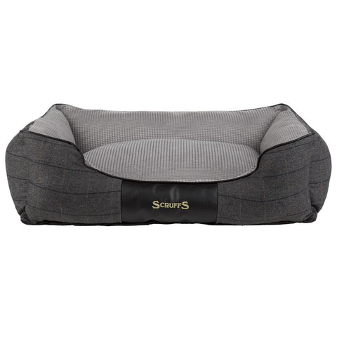 Windsor Box Dog Bed - Charcoal Dog Bed Scruffs®