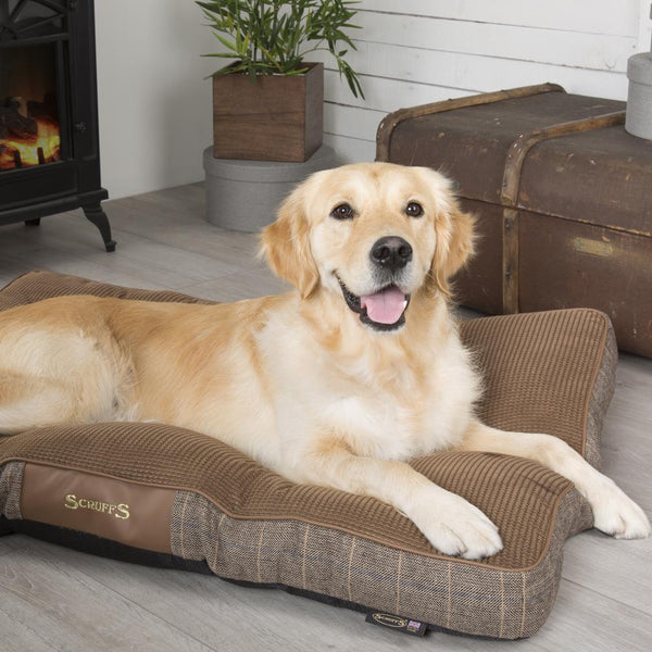 Windsor Dog Mattress - Chestnut Dog Bed Scruffs®