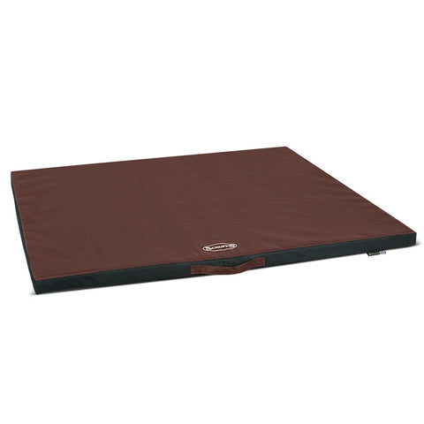 Expedition Crate Mat - Chocolate Brown Dog Crate Mat Scruffs®