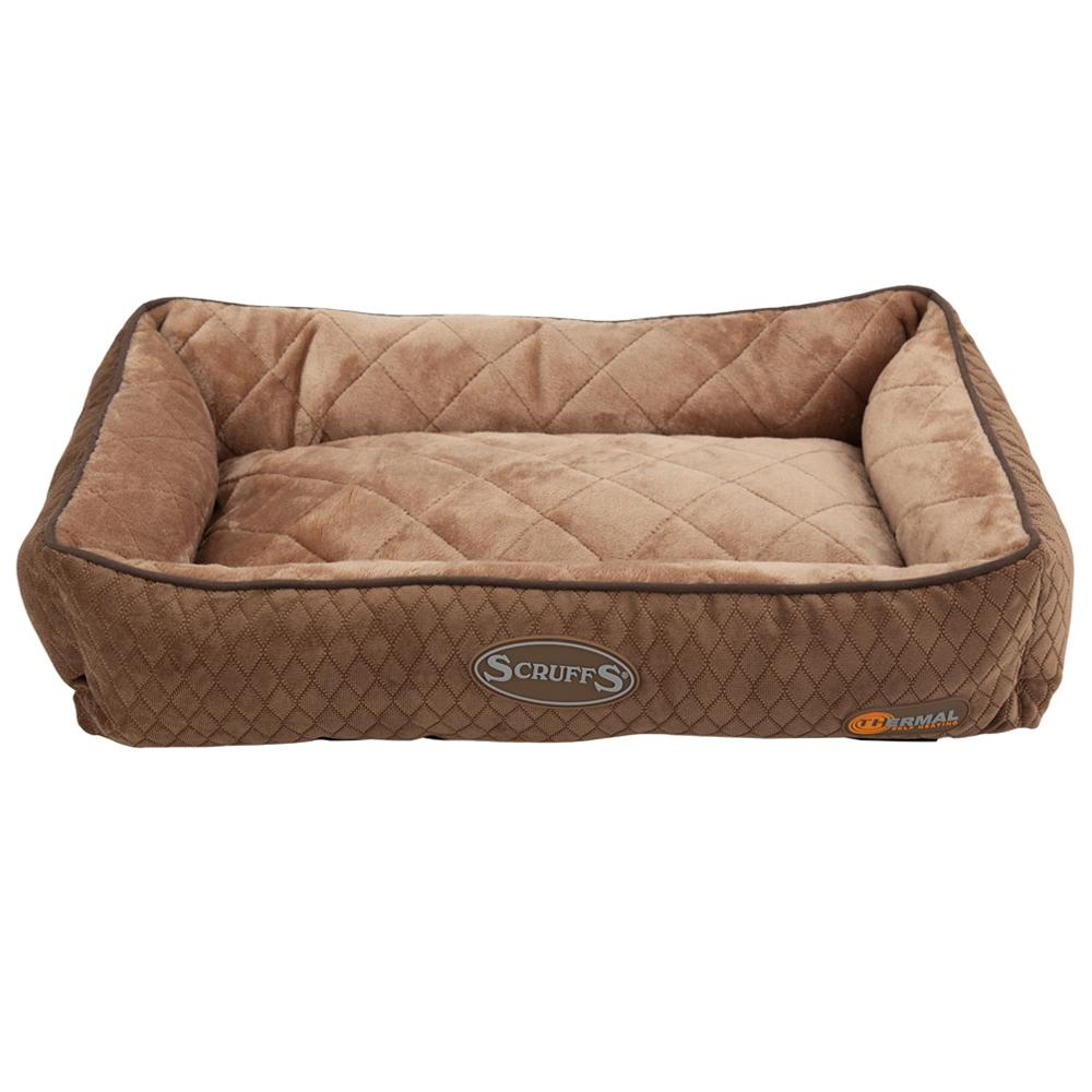 Thermal Lounger Cat Bed - Chocolate Brown Cat Bed Scruffs®