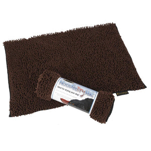 Noodle Dry Mat - Chocolate Dog Mat Scruffs®