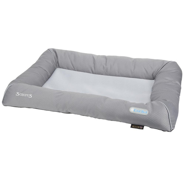 Cool Dog Bed - Grey Cooling Mat Scruffs®