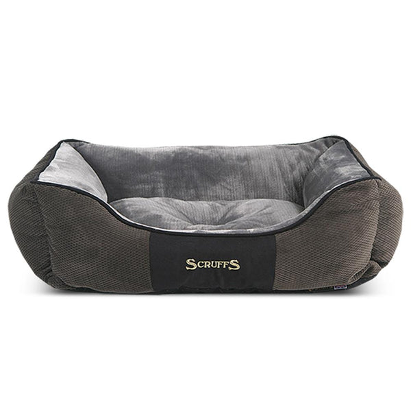 Chester Box Dog Bed - Graphite Grey Dog Bed Scruffs®