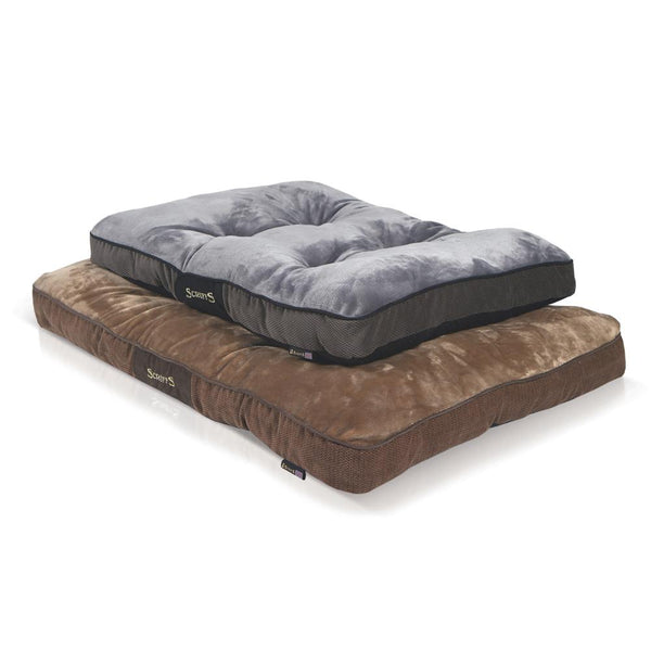 Chester Mattress - Graphite Grey Dog Bed Scruffs®