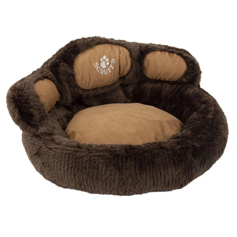 Paw Cat Bed - Grizzly Bear Cat Bed Scruffs®
