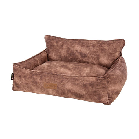Kensington Box Bed - Chocolate Dog Bed Scruffs®