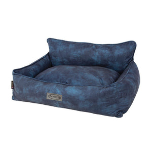 Kensington Box Bed - Navy Dog Bed Scruffs®