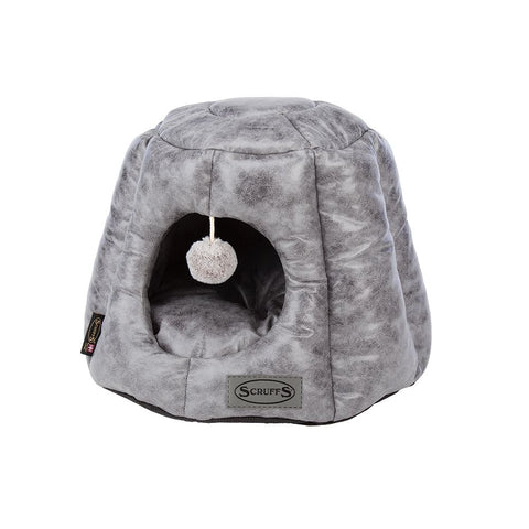 Knightsbridge Cat Bed - Grey Cat Bed Scruffs®