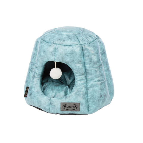 Knightsbridge Cat Bed - Turquoise Cat Bed Scruffs®