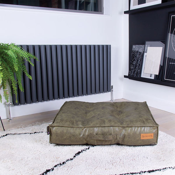 Knightsbridge Mattress - Olive Dog Bed Scruffs®