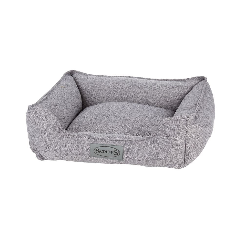 "Manhattan Box Bed - Dark Grey Dog Bed Scruffs® Small (50 x 40cm / 19.5"" x 16"")"