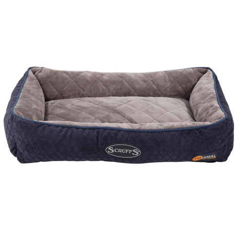 Thermal Lounger Cat Bed - Navy Blue Cat Bed Scruffs®