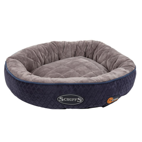 Thermal Ring Cat Bed - Navy Blue Cat Bed Scruffs®