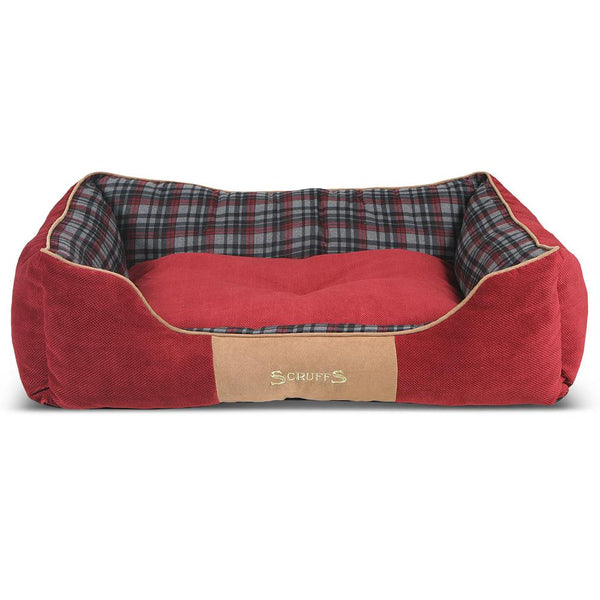 Highland Box Bed - Red Dog Bed Scruffs®