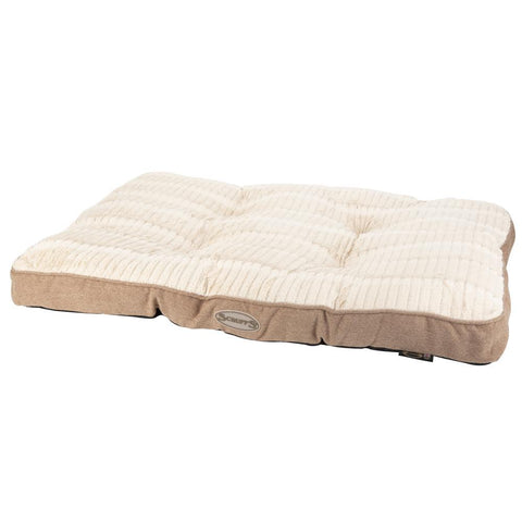 Ellen Dog Mattress - Tan Dog Bed Scruffs®