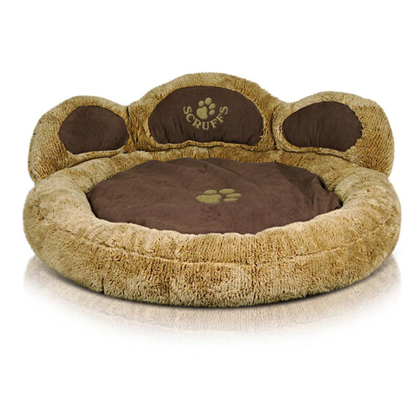 Grizzly Bear Dog Bed - Teddy Bear Dog Bed Scruffs®