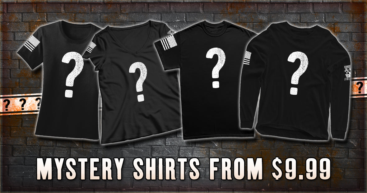 Forged From Freedom Mystery Apparel